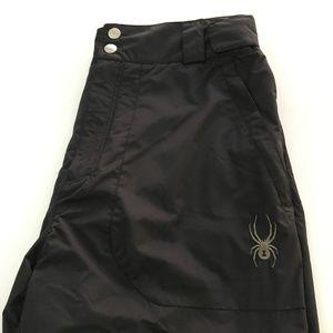 Spyder Pant Snow Ski Size Large L Black